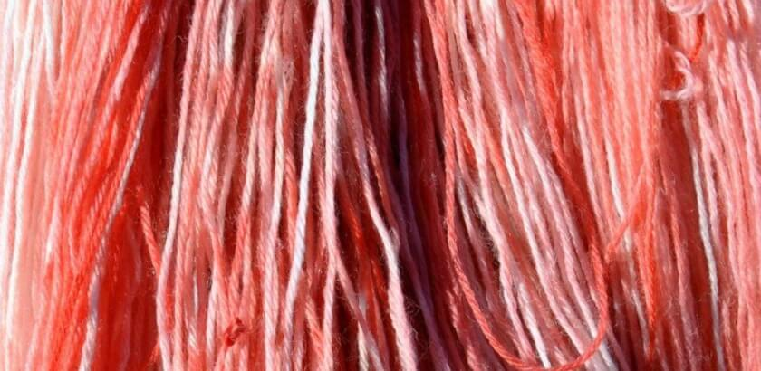 Cranberry Dyeing