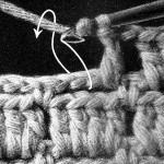 Double crochet and chains