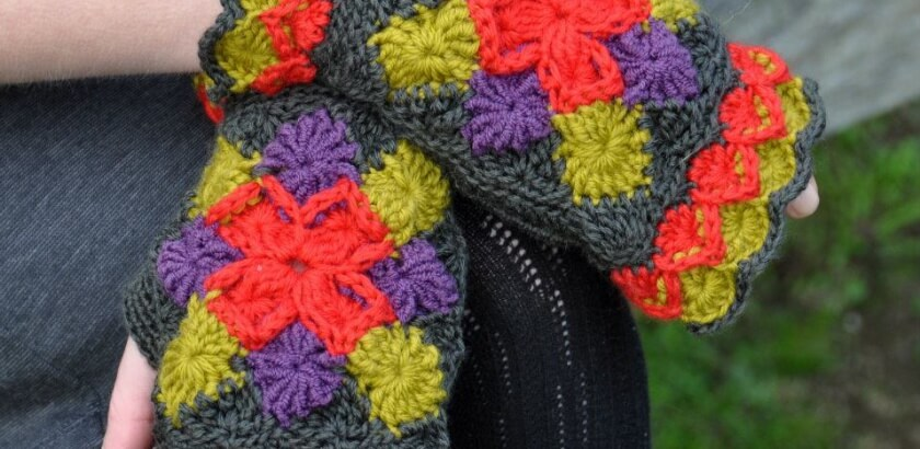Bavarian Mitts Crochet Pattern Craftorium