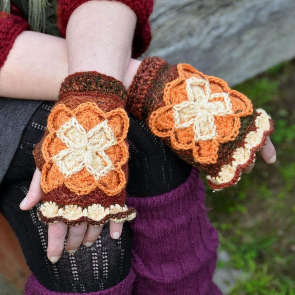 Bavarian Mitts crochet pattern