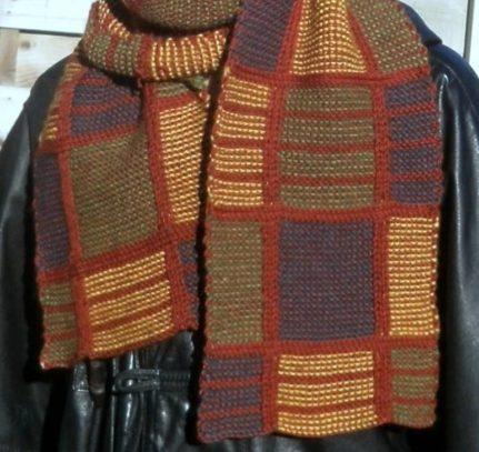 Plaid checkered scarf knitting pattern craftorium plaid checkered scarf knitting pattern dt1010fo