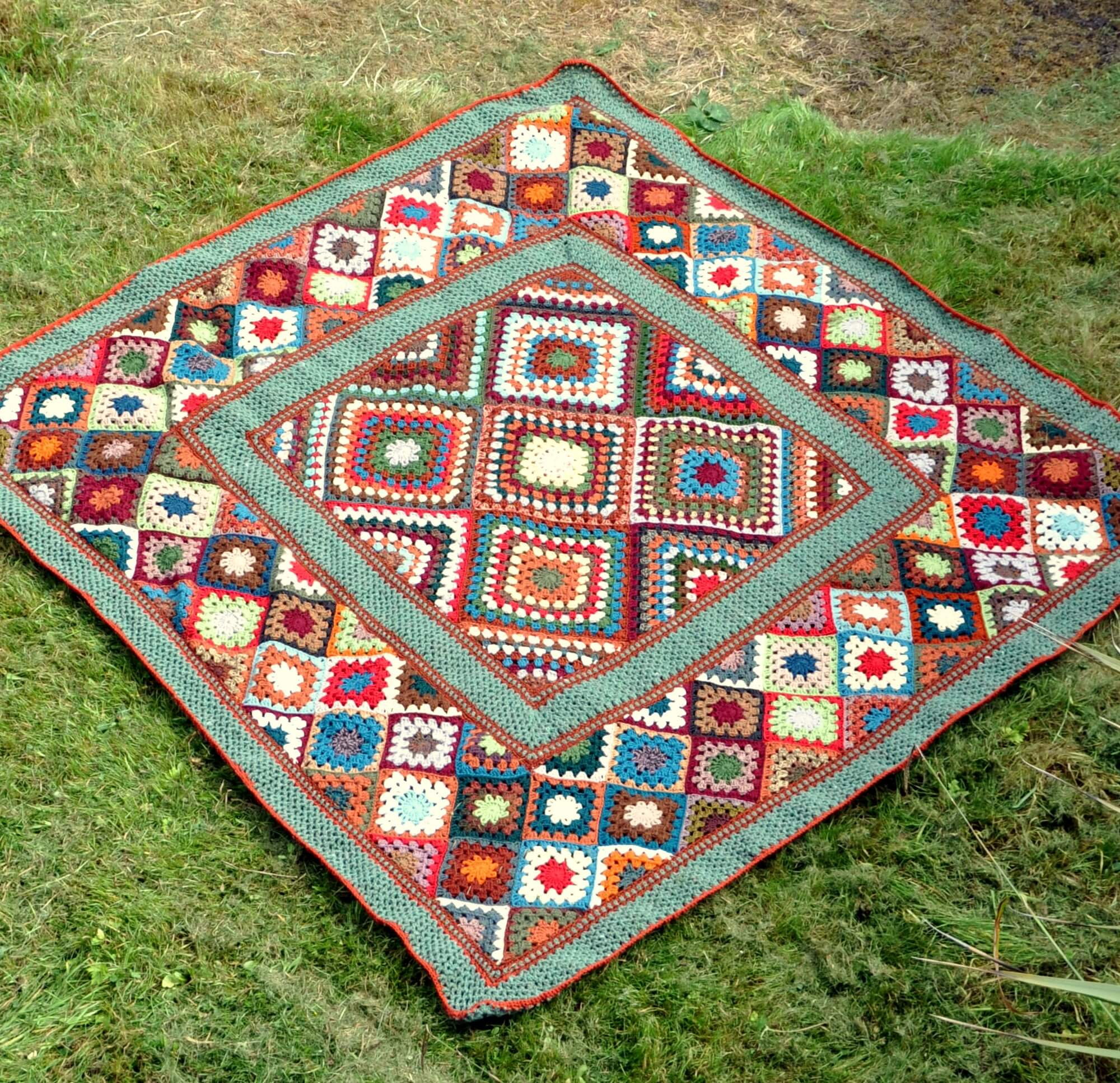 Granny Square Afghans