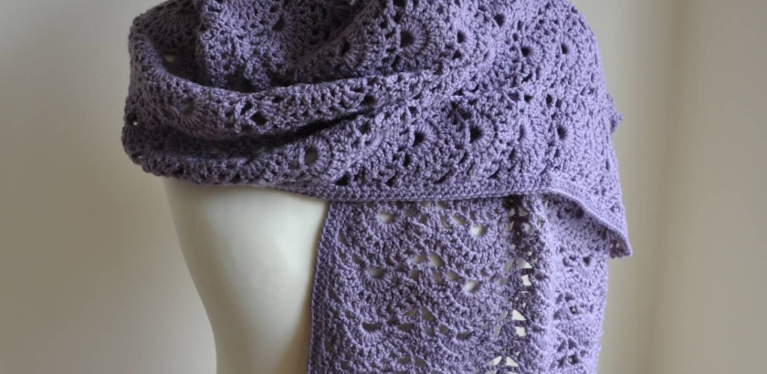 Scallops Crochet Stole