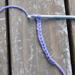 Basic crochet stitches