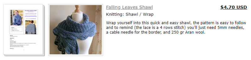 falling leaves sur ravelry