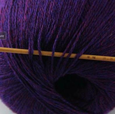 cashmere fingering yarn indigo purple 627