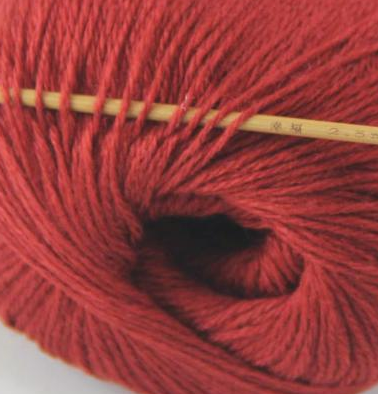 cashmere fingering yarn maroon red 610
