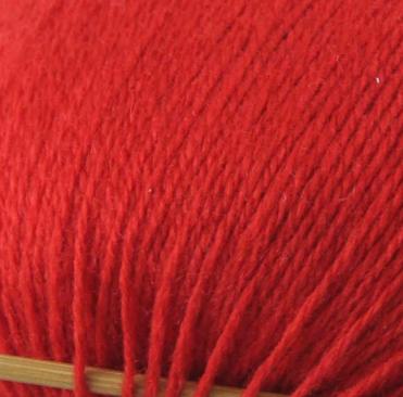 cashmere fingering yarn orange 603