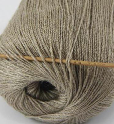cashmere fingering yarn tan 624