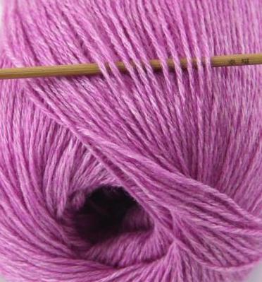 cashmere fingering yarn violet 614