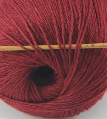 cashmere fingering yarn wine 616