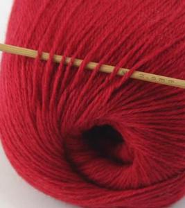 tn_cashmere fingering yarn dark red 608