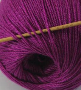 tn_cashmere fingering yarn fushia 626