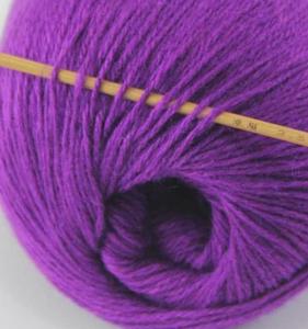 tn_cashmere fingering yarn royal purple 617