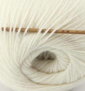 tn_cashmere fingering yarn white 601