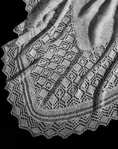 Vintage Shawl Beehive Vintage Pattern